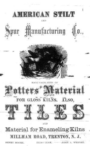 1872 American Stilt and Spar Manufacturing Co