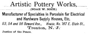 1893 artistic pottery works