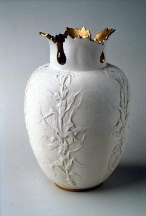 Ceramic Art Company porcelain carved by Kate B. Sears, ca. 1892