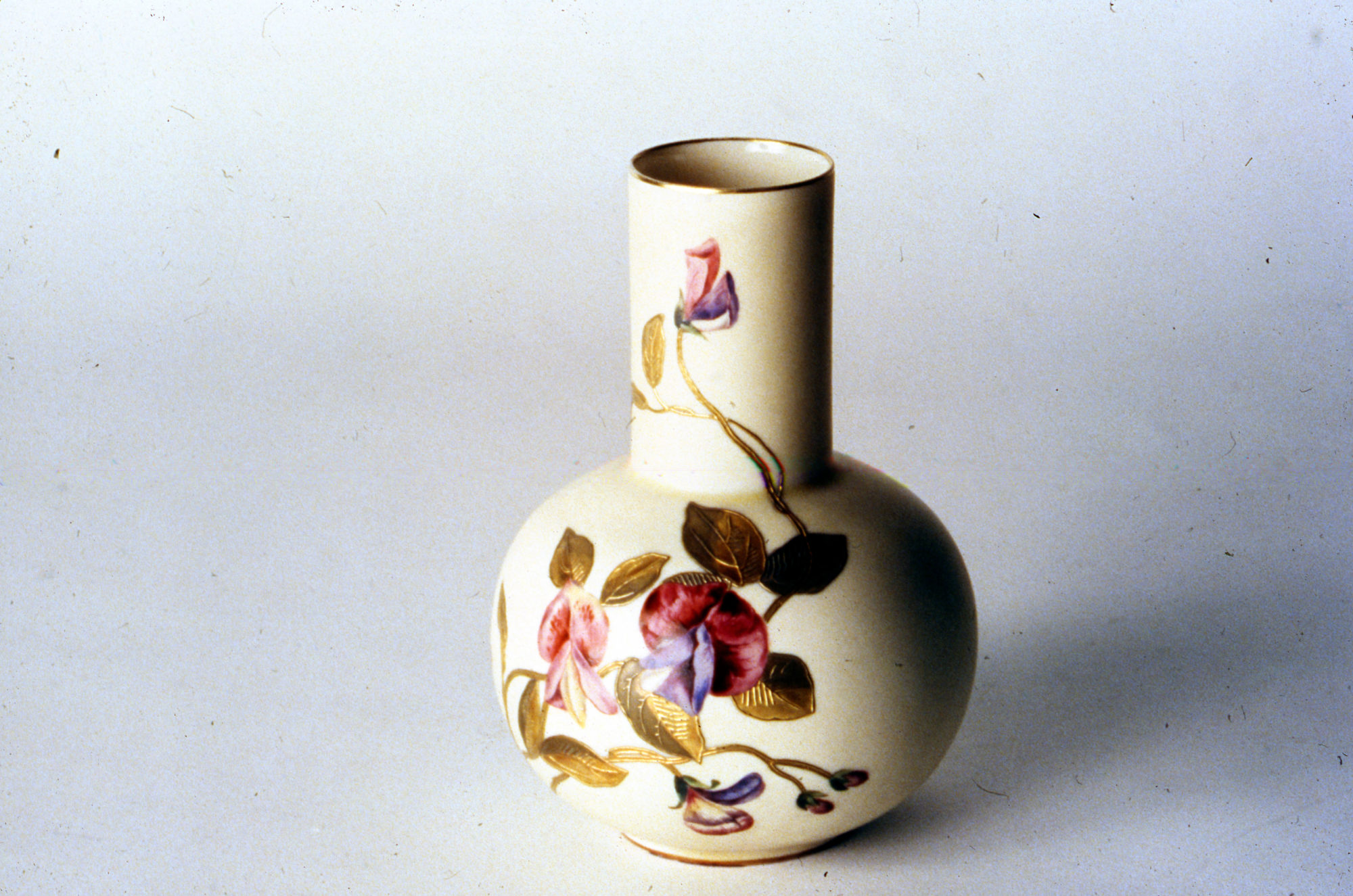 Greenwood Pottery, Ne Plus Ultra Vase, ca. 1885, NJSM 79.1.4