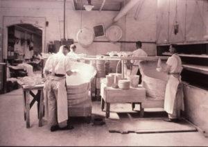 glazing bisque ware
