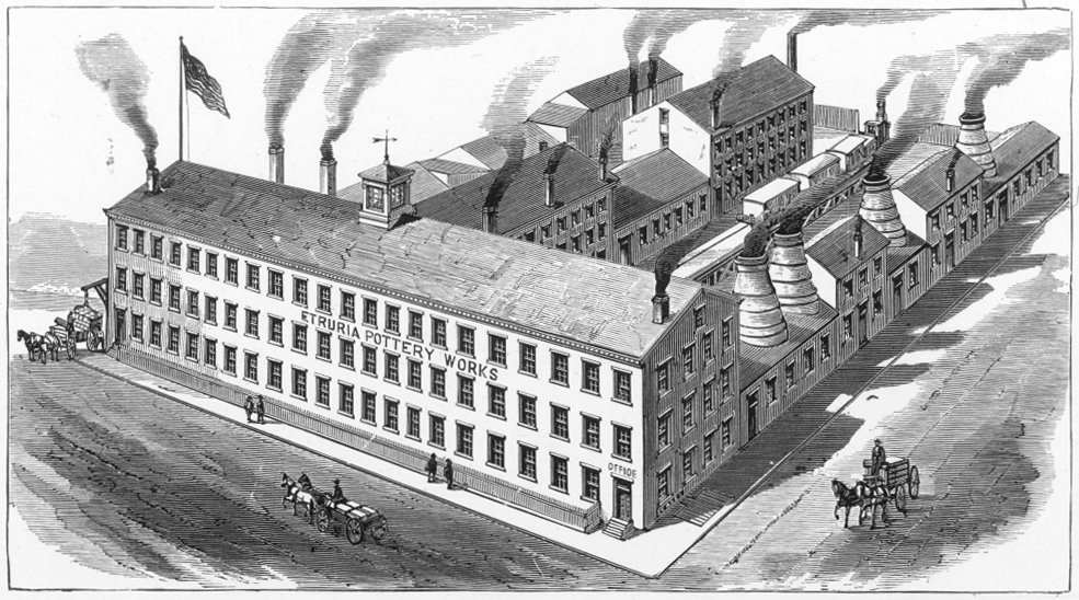 A Brief History of the Trenton Pottery Industry - Potteries