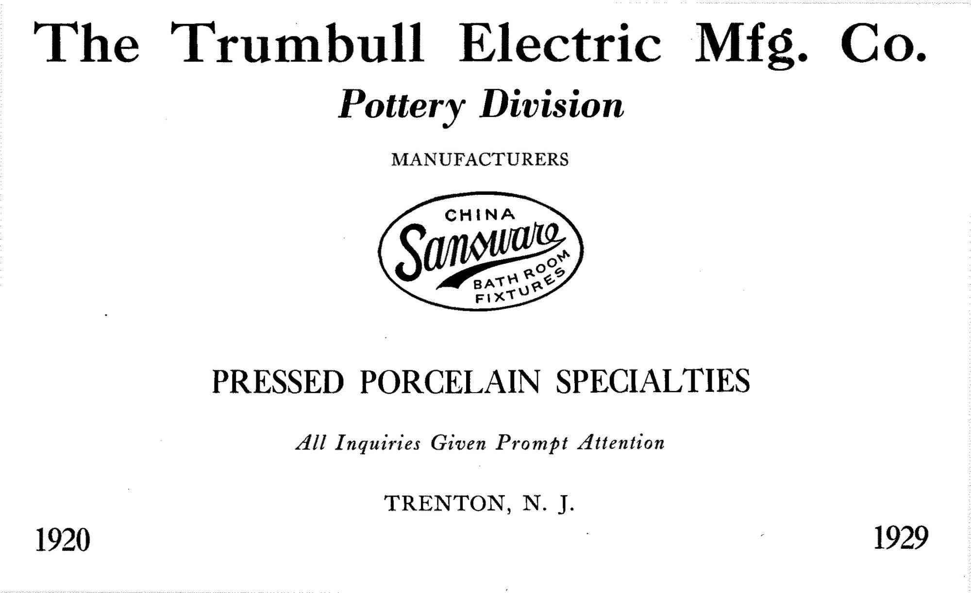 Trumbull Ad